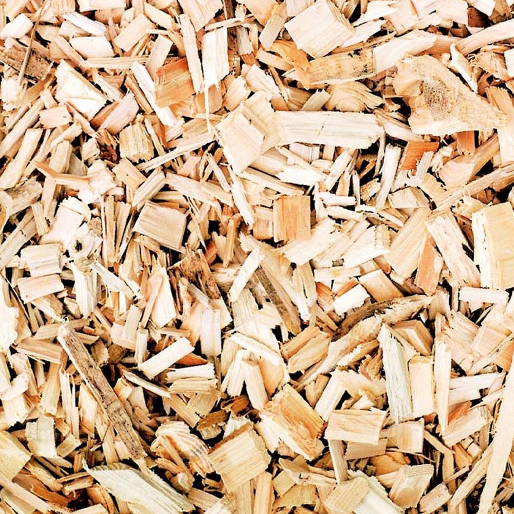 Combustible bois déchiqueté