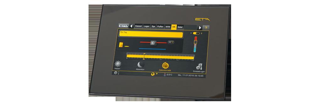 Écran technologie ETA