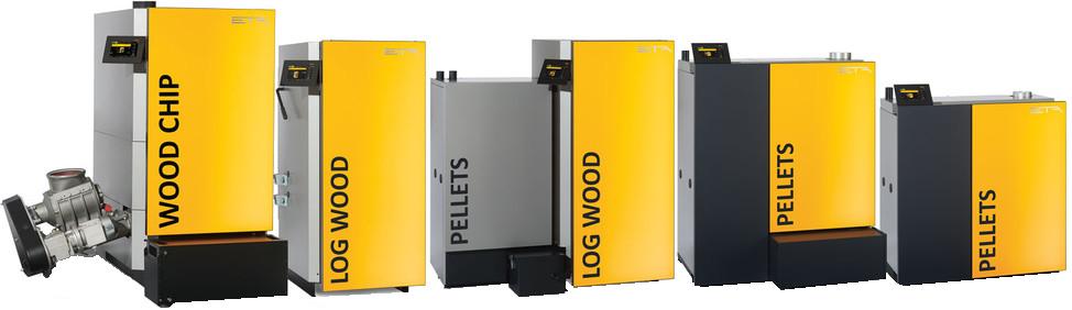 Chaudières biomasses gamme