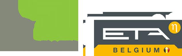 Green pellets ETA logo
